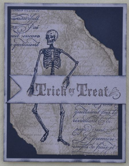 Piece of Poison da Vinci Inspired Halloween Card