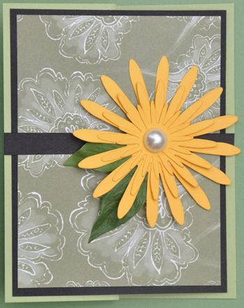 Scrap Daisy Card