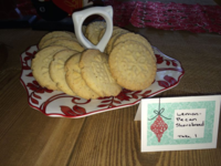 Cookie Stamped Shortbread