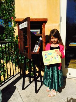 Little free library and emma