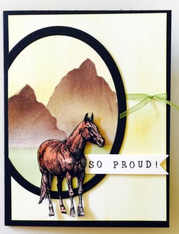 Equestrian Technique Heavy Card