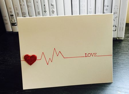 5 Minute Mondays Heartbeat Card